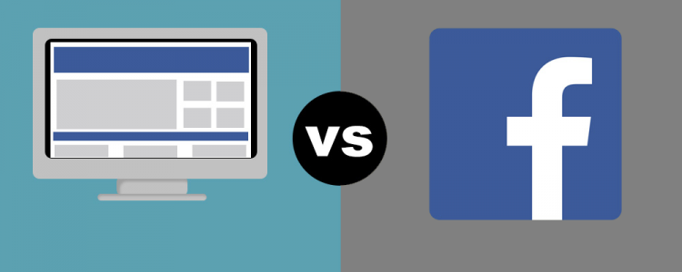 Website Vs Facebook. Qual O Melhor Canal Para O Seu Negócio?